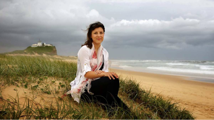 Newcastle Herald Short Story Competition Winner - Stephanie Holm Press Photo