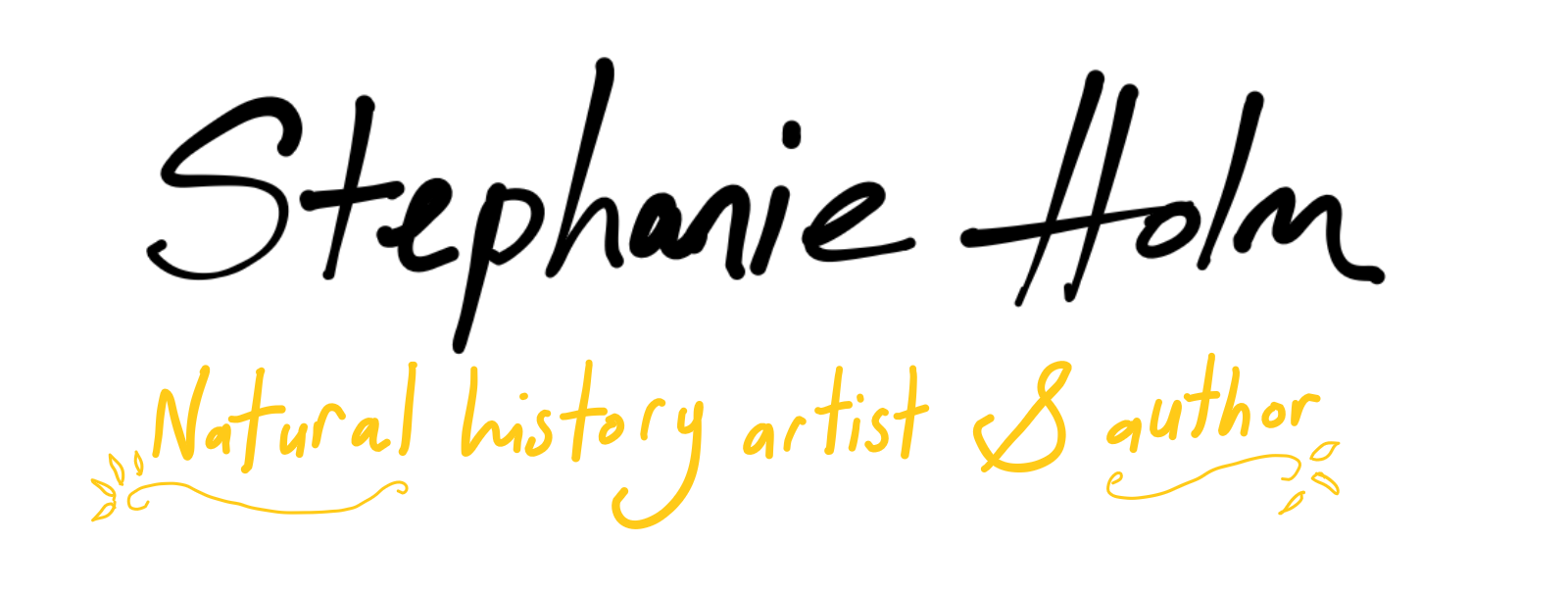 Stephanie Holm Natural history artist and author